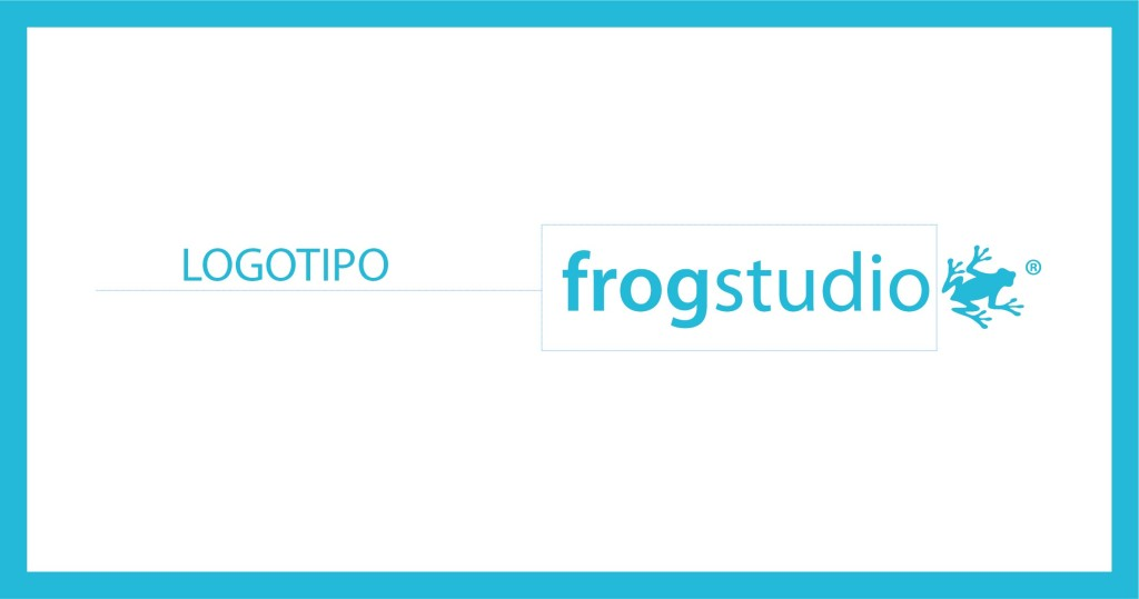 logotipo frogstudio